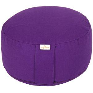 Yoga/ Meditationskissen klein violett