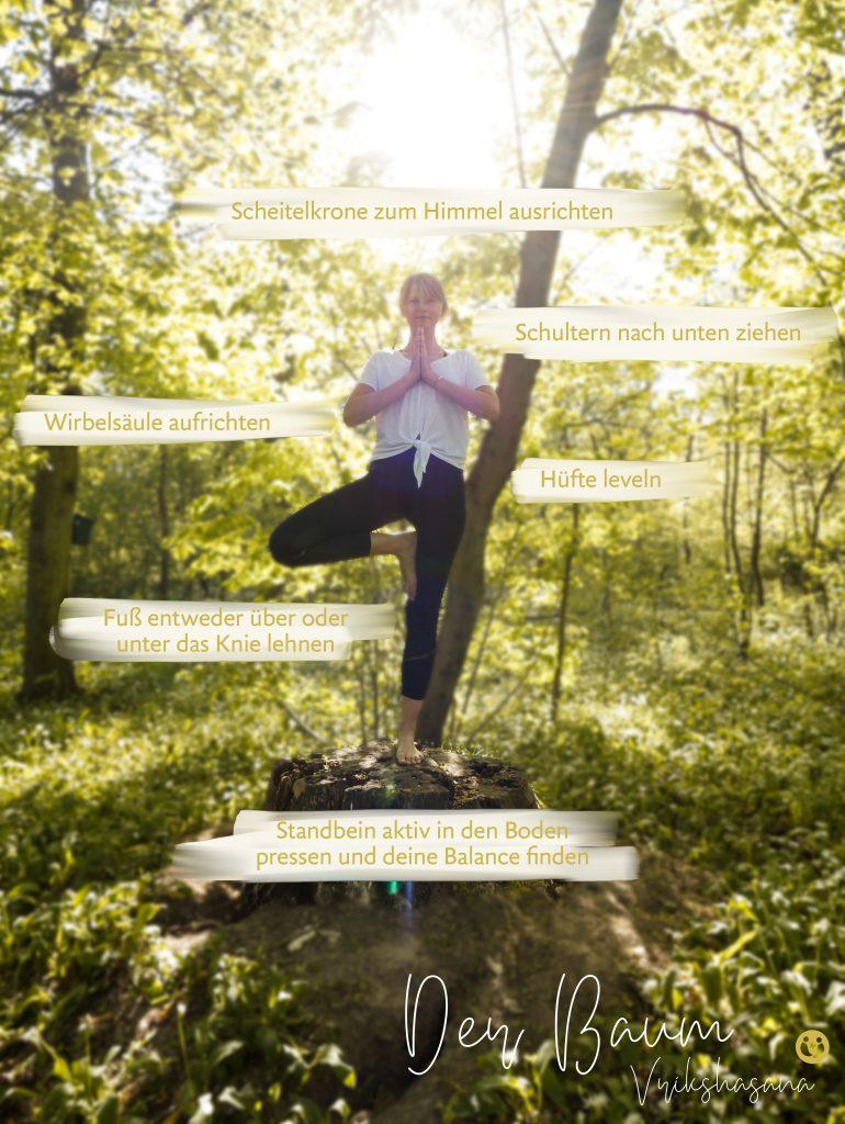 Yoga Pause - Der Yoga Baum für mehr Balance