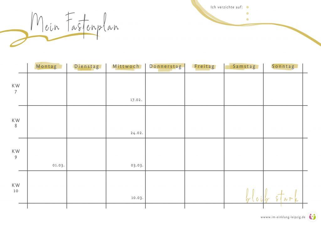 Fastenzeit: Bedeutung, Ideen & Motivation für die 40 Tage ohne...