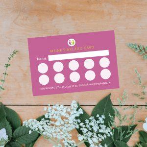 Produkt Einklang-Card