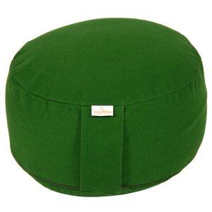 Meditationskissen Buchweizenschalen grün