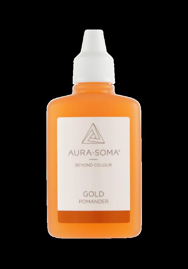 Aura-Soma Pomander Duftessenzen gold